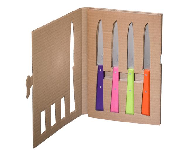Opinel box 4 coltelli da tavola 3 for Coltelli da tavola opinel